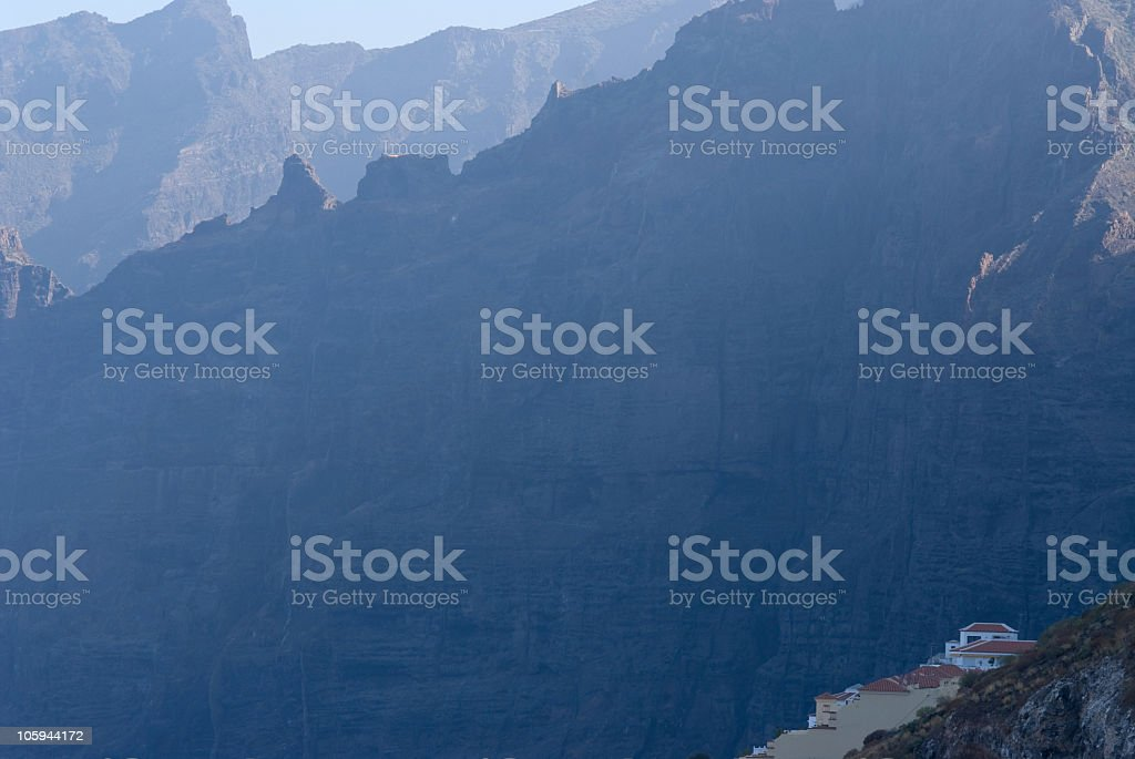 Los Gigantes, Tenerife. foto stock royalty-free