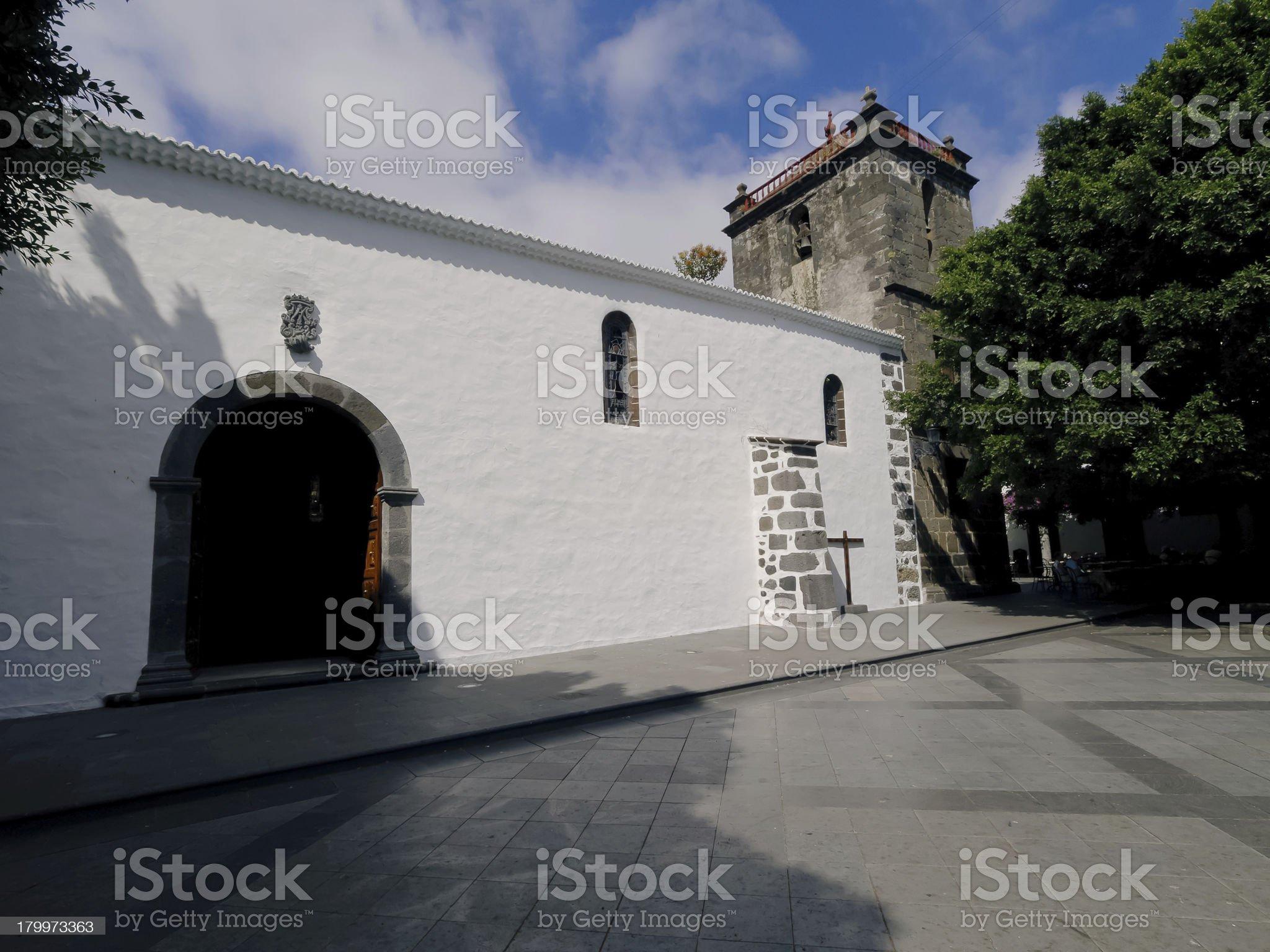 Los Llanos de Aridane, La Palma royalty-free stock photo