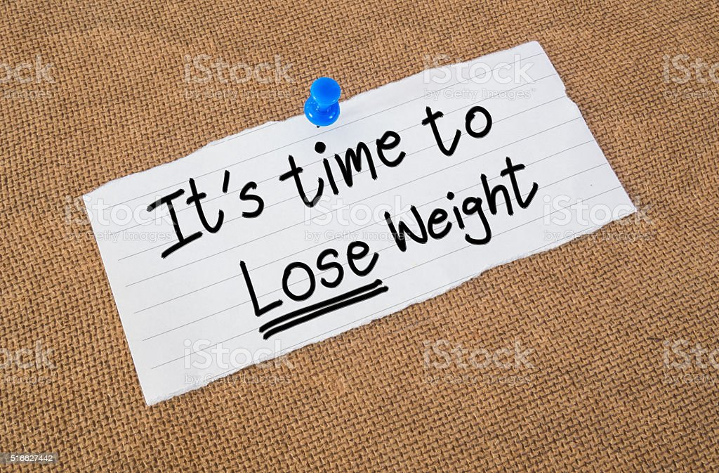 Lose weight time stock photo