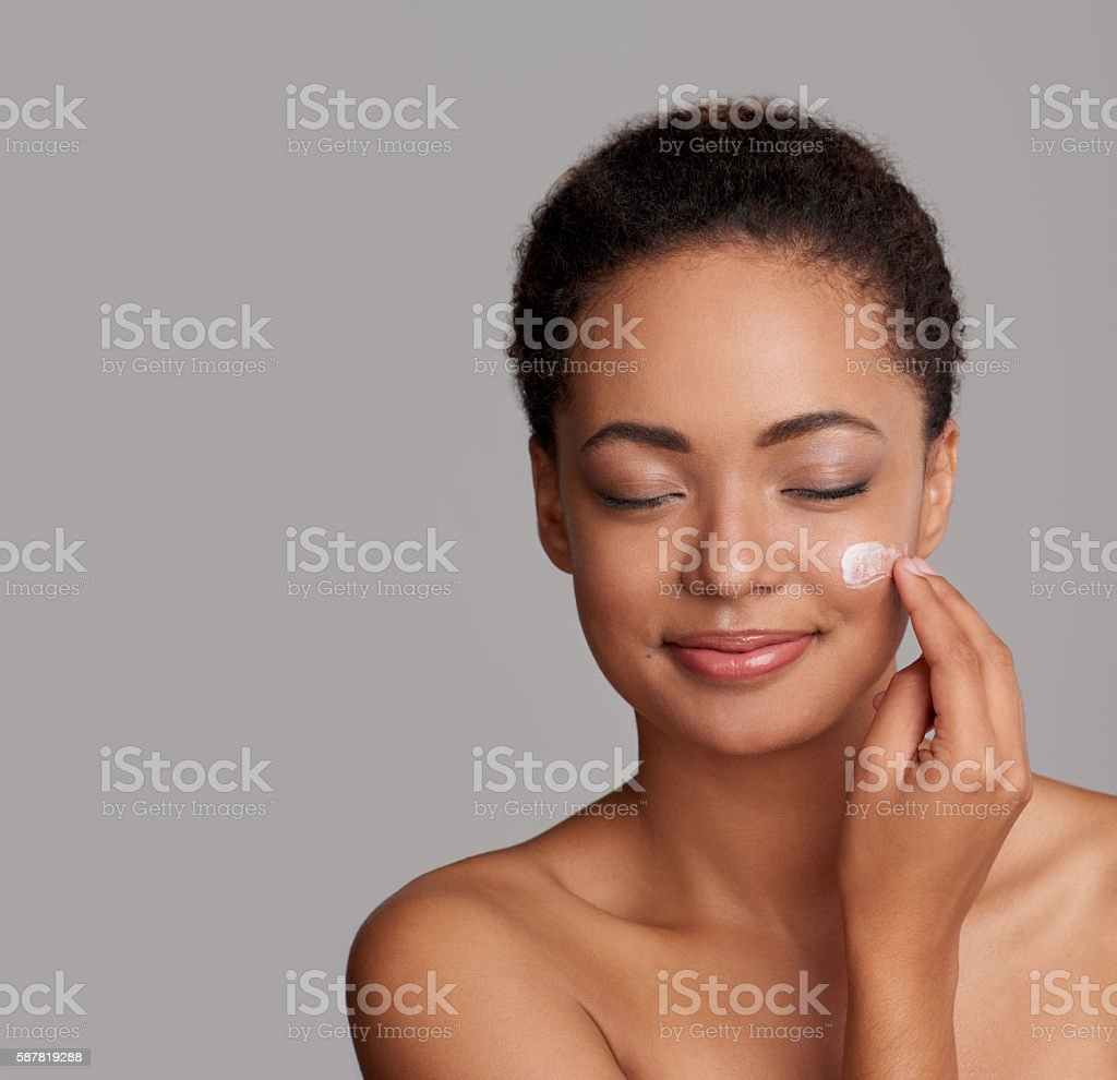 Lose yourself in the ultimate softness of this cream stock photo
