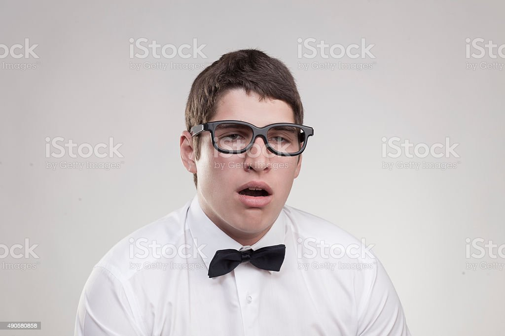 loser sleepy stock photo