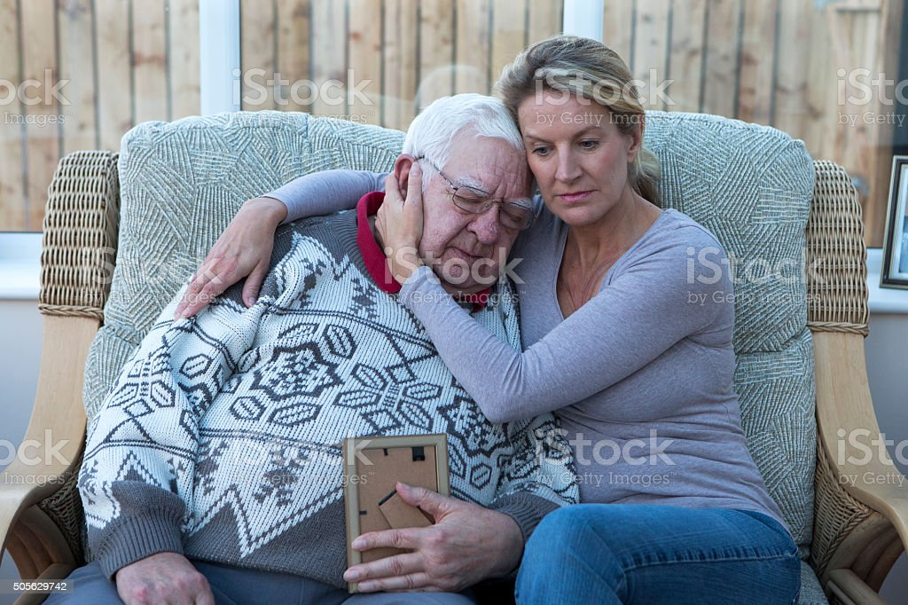 Losing a Loved One stock photo