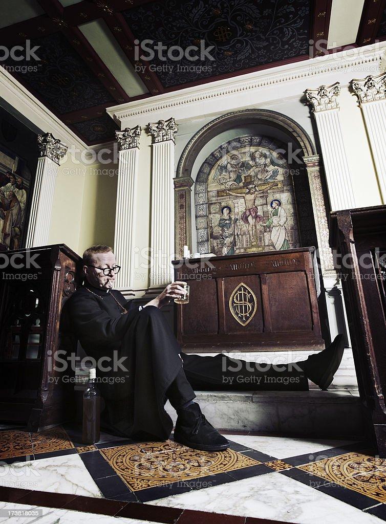losing the faith royalty-free stock photo