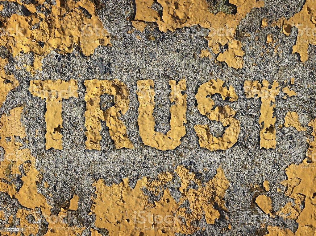 Losing Trust royalty-free stock photo