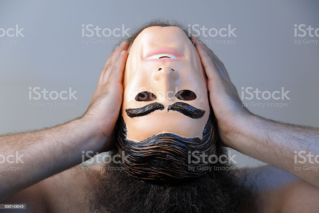 Losing Your Mind stock photo