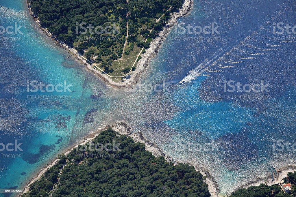 Losinj Island Detail royalty-free stock photo