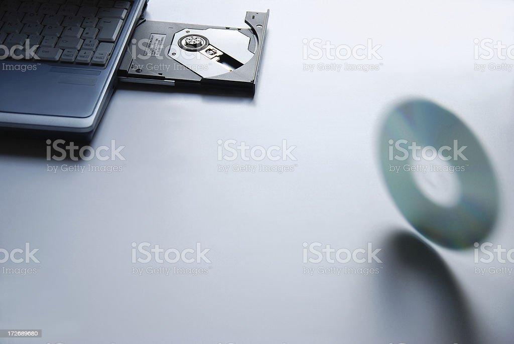 Loss of computer data stock photo