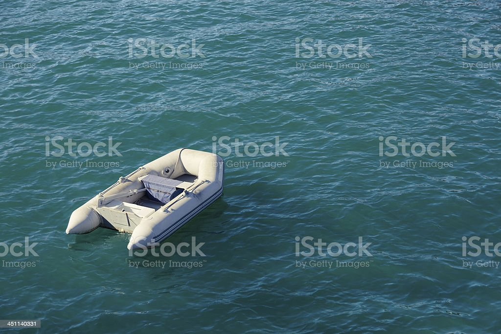 Lost at sea royalty-free stock photo
