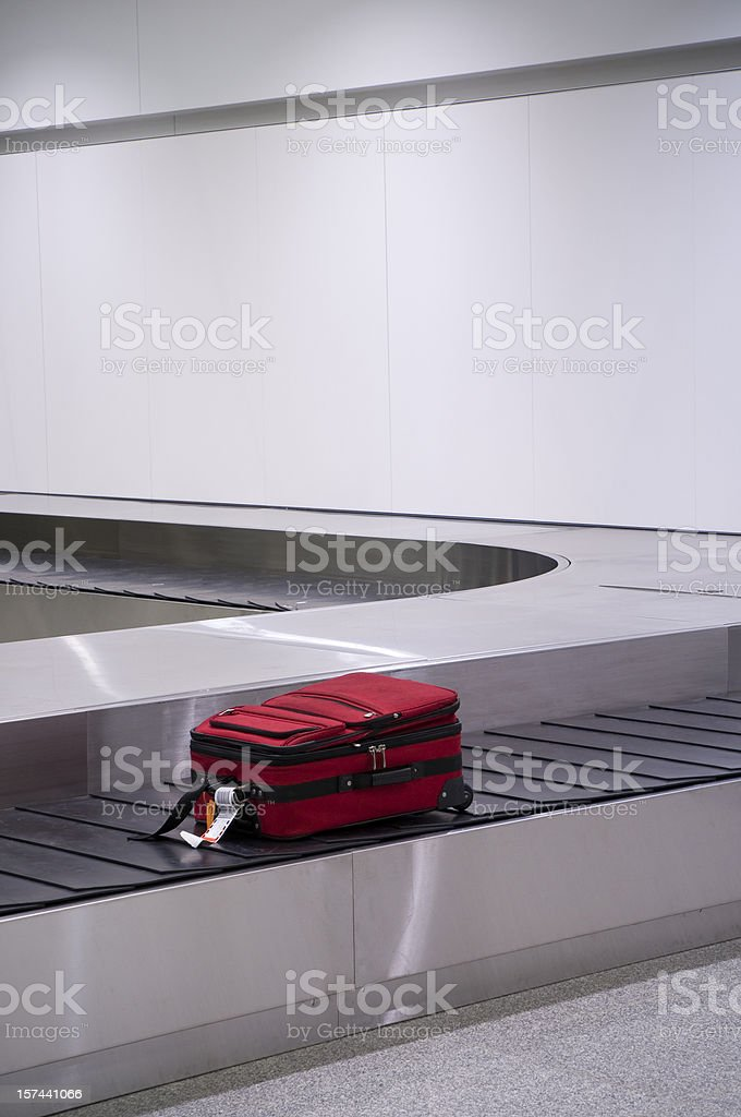 Lost Baggage royalty-free stock photo