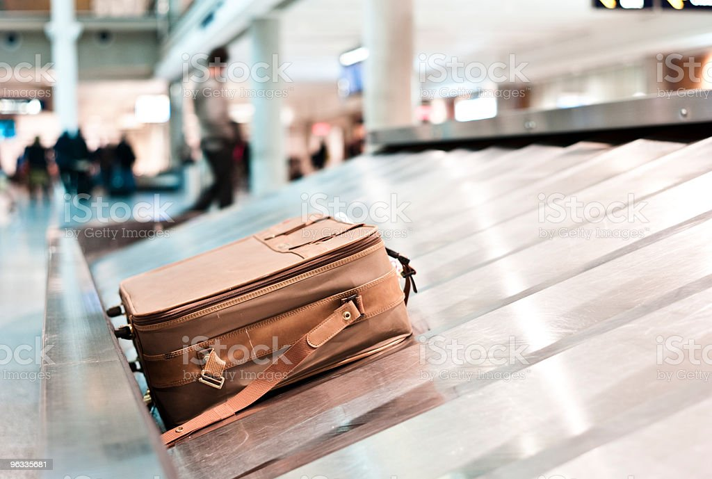 Lost baggage stock photo