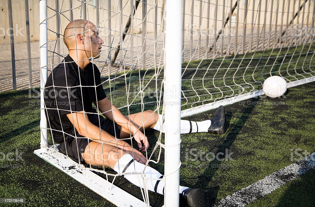 Lost game royalty-free stock photo