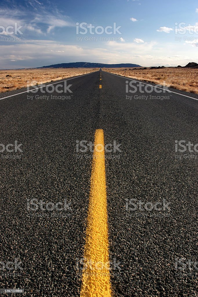 lost highway royalty-free stock photo