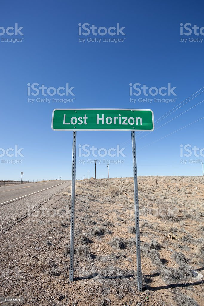 lost horizon royalty-free stock photo