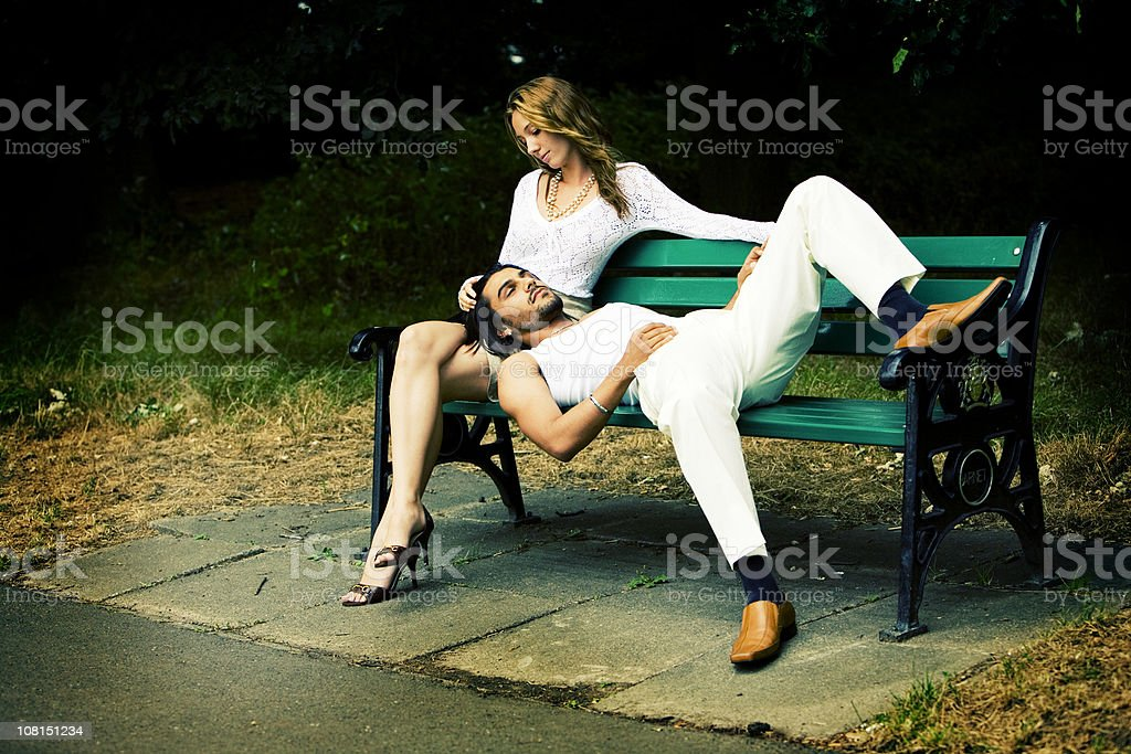 lost in each other royalty-free stock photo