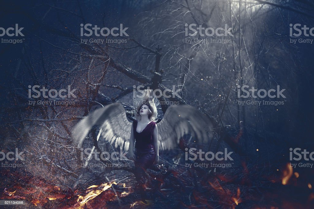 lost in my dreams stock photo