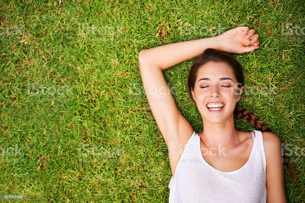 Lost in summer dreams stock photo