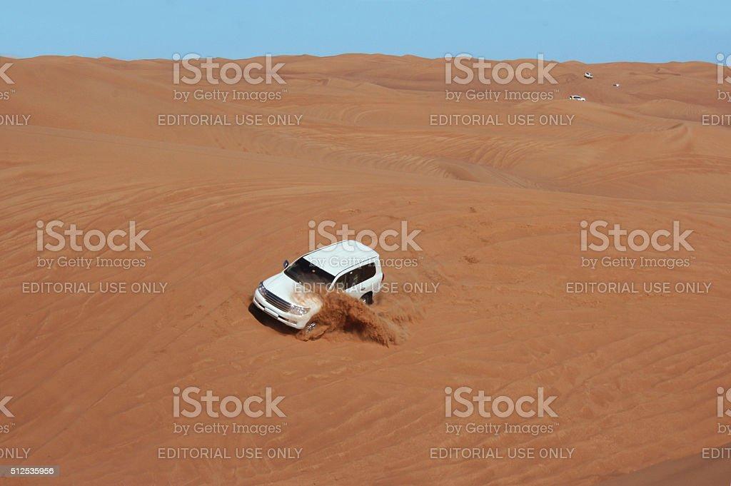 Lost in the Desert stock photo