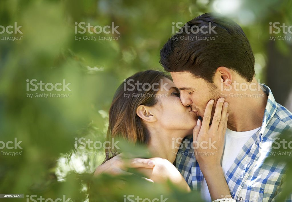 Lost in the love stock photo
