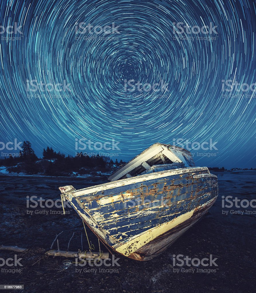 Lost in the Stars stock photo