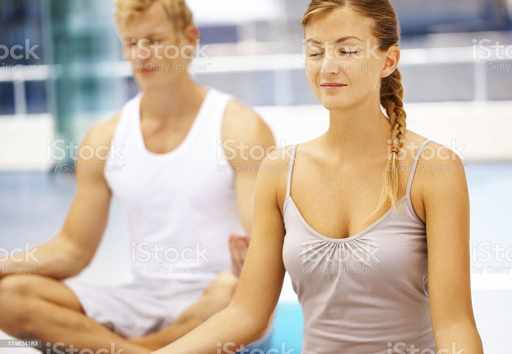 Lost in thought royalty-free stock photo