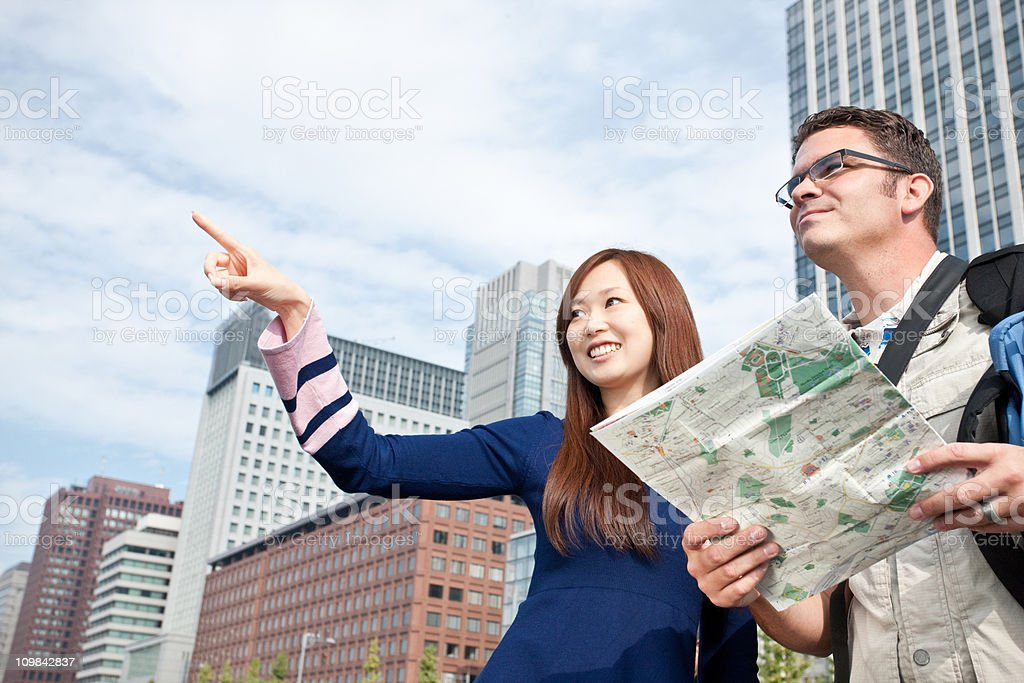 Lost in Tokyo stock photo