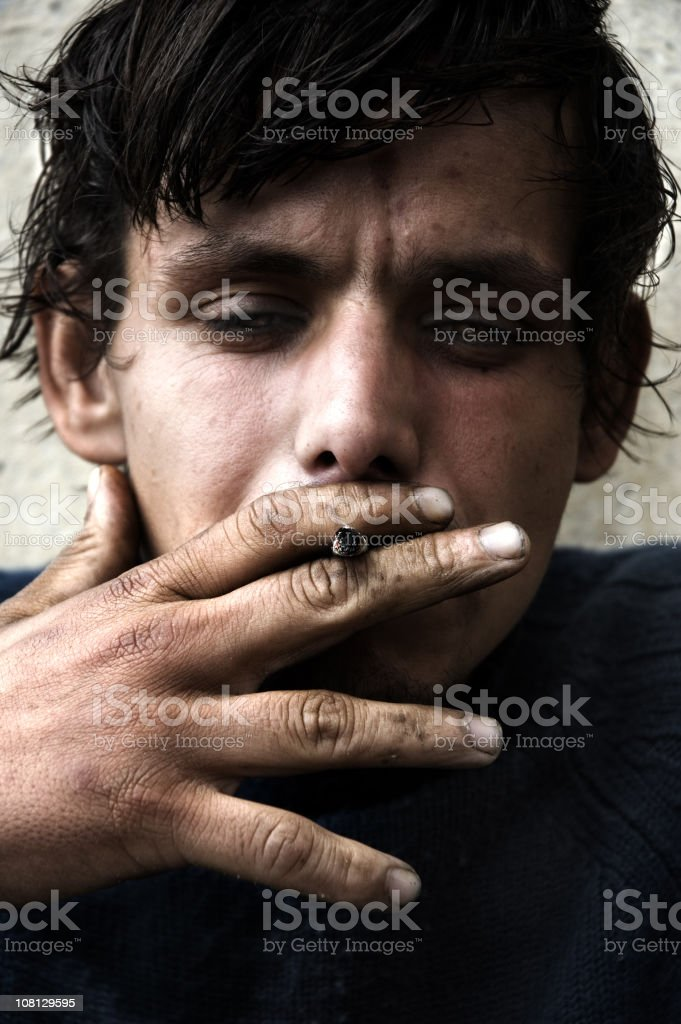 Lost life royalty-free stock photo