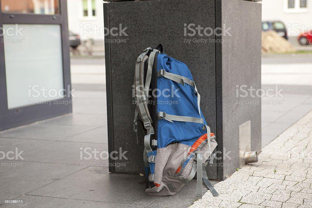 Lost luggage or a terrorist attack stock photo