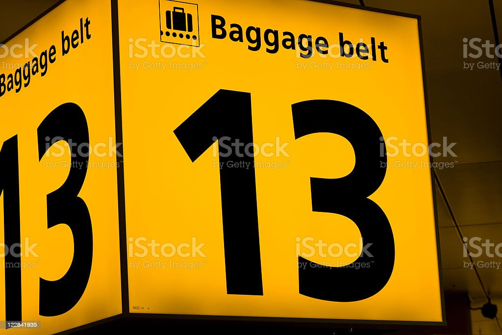 lost luggage royalty-free stock photo