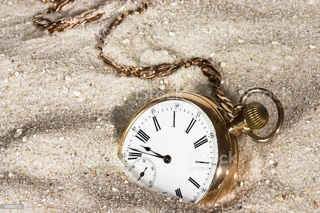 Lost time stock photo