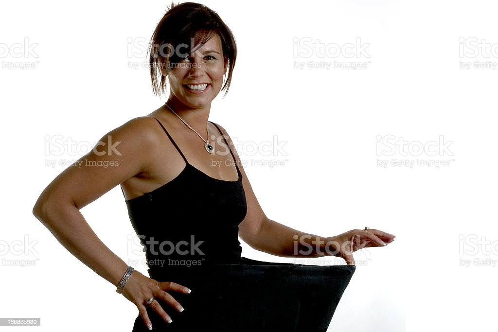 Lost weight royalty-free stock photo