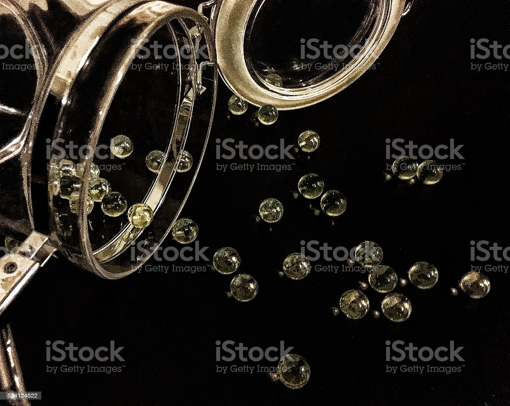 Lost Your Marbles stock photo