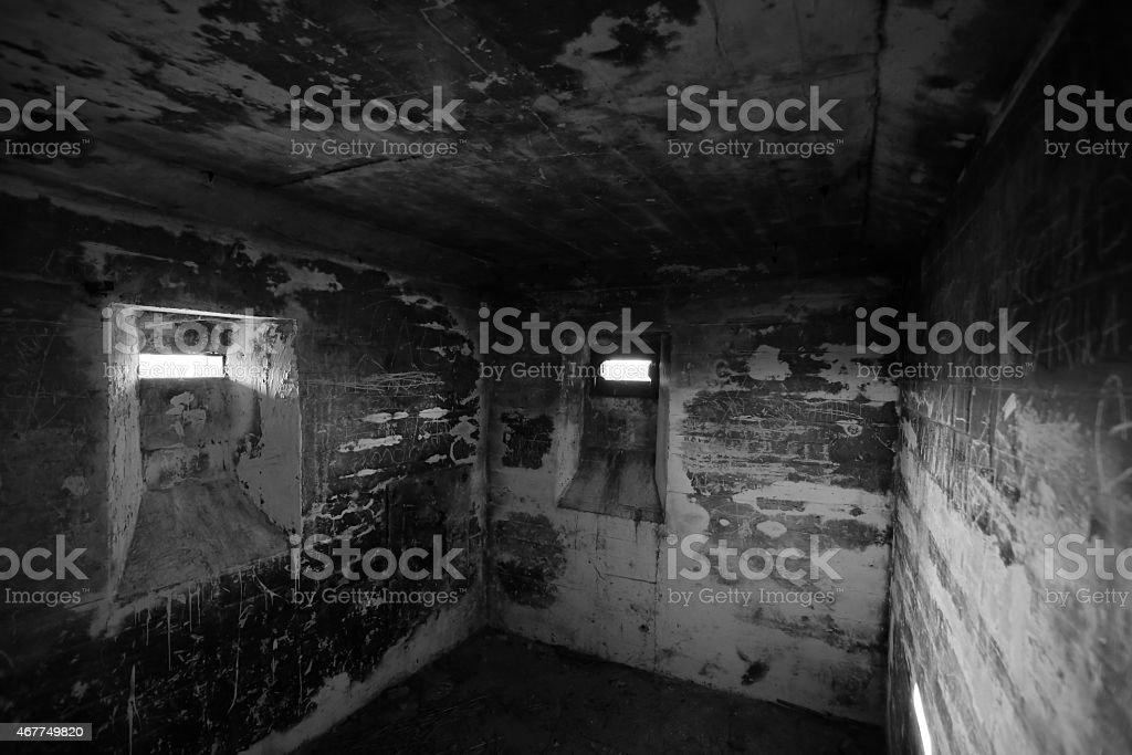 Lostau Bunker BW stock photo