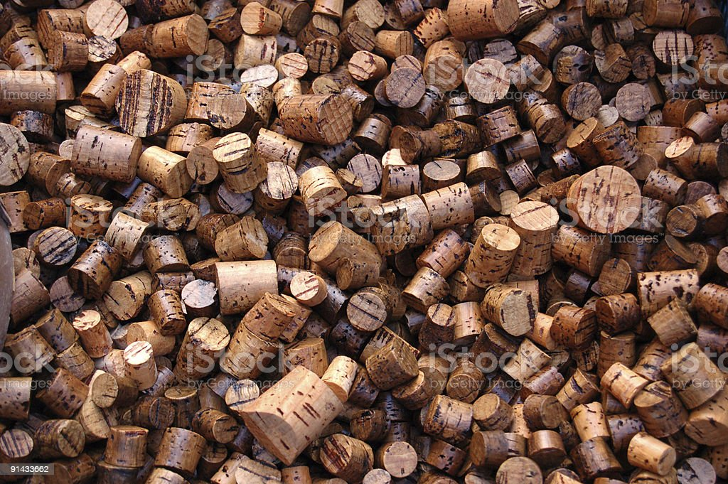 Lot of corks! royalty-free stock photo