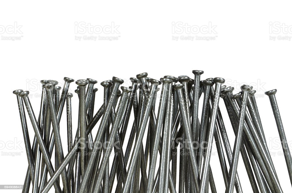 lot of nails royalty-free stock photo