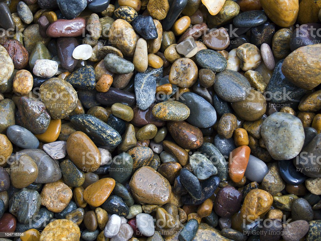 lot of pebbles as background royalty-free stock photo