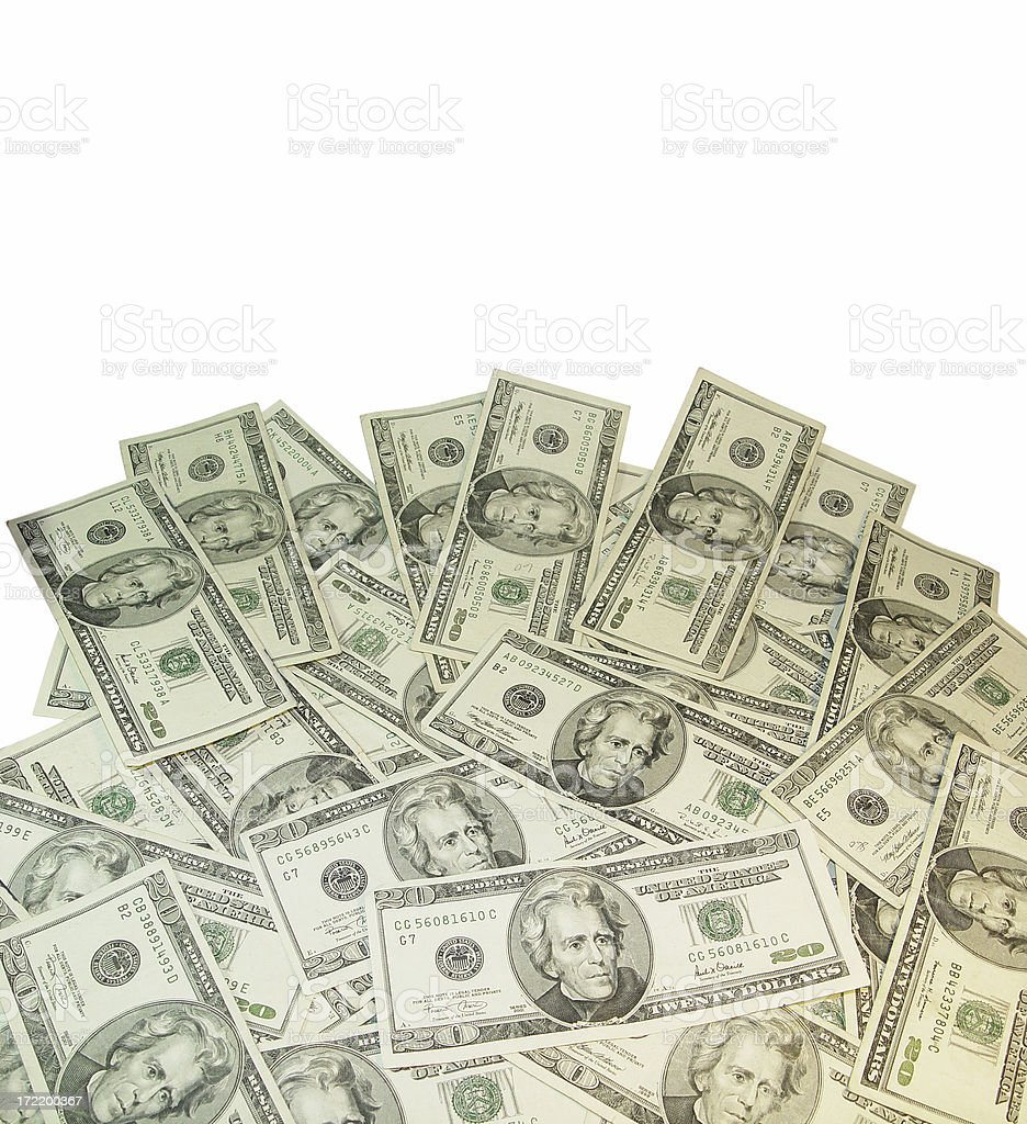 lot of twenties royalty-free stock photo