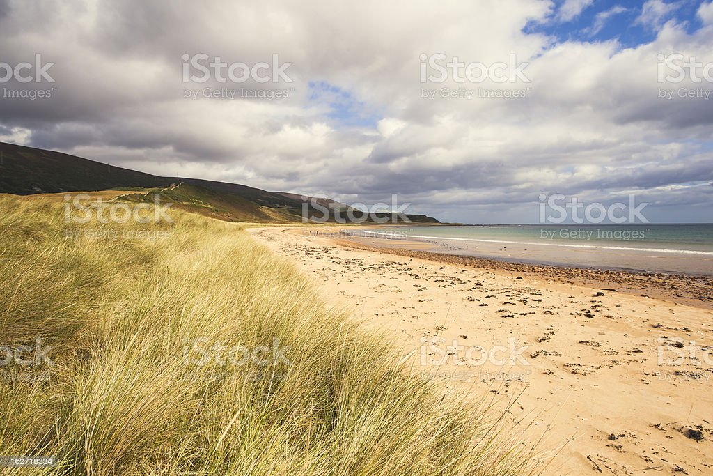 Loth beach, Sutherland, Scotland royalty-free stock photo