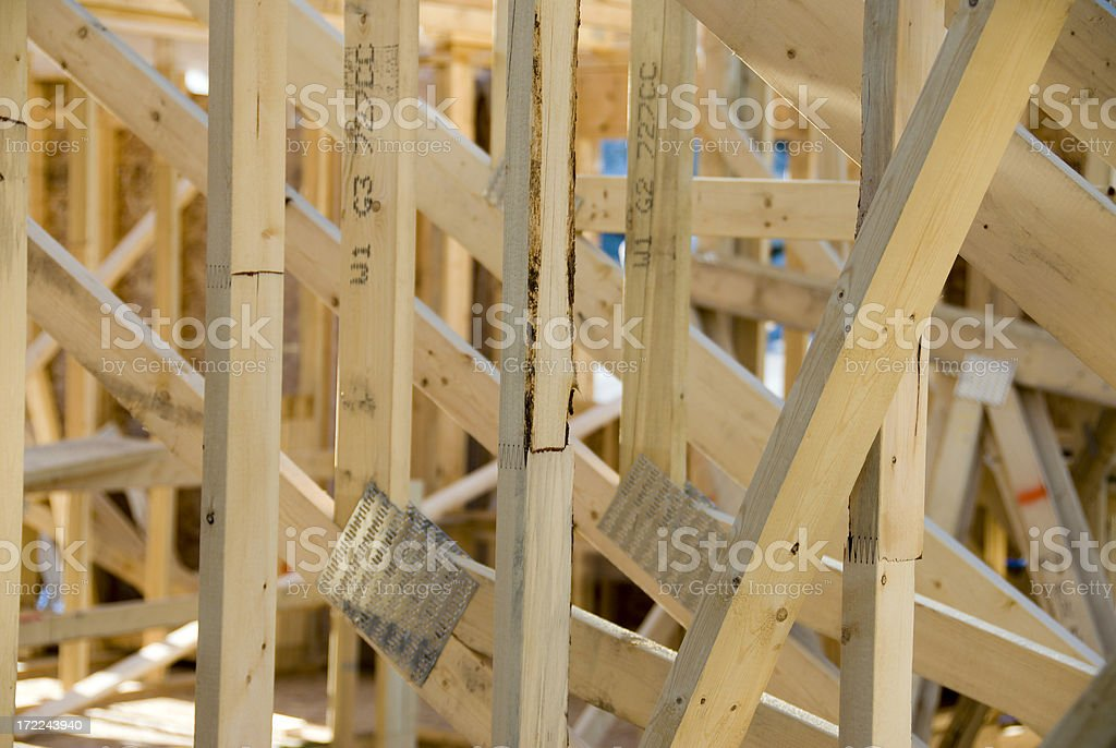 Lots O' Wood stock photo
