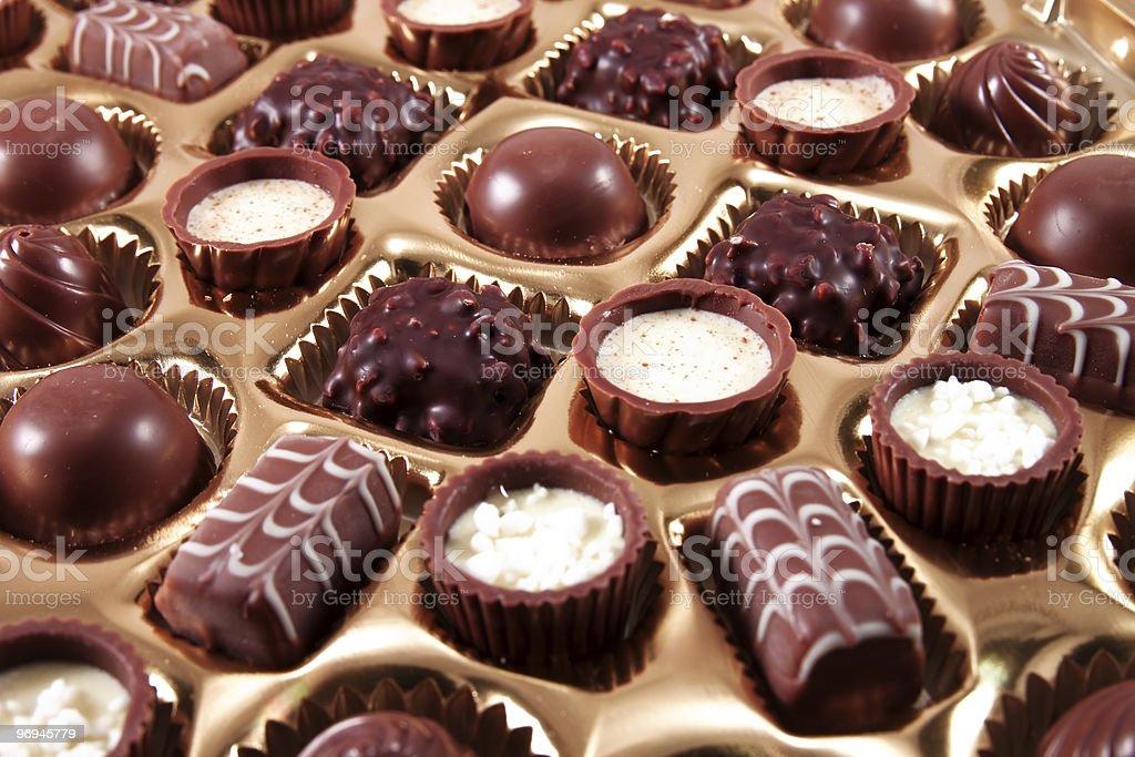 Lots Of Chocolates XL royalty-free stock photo