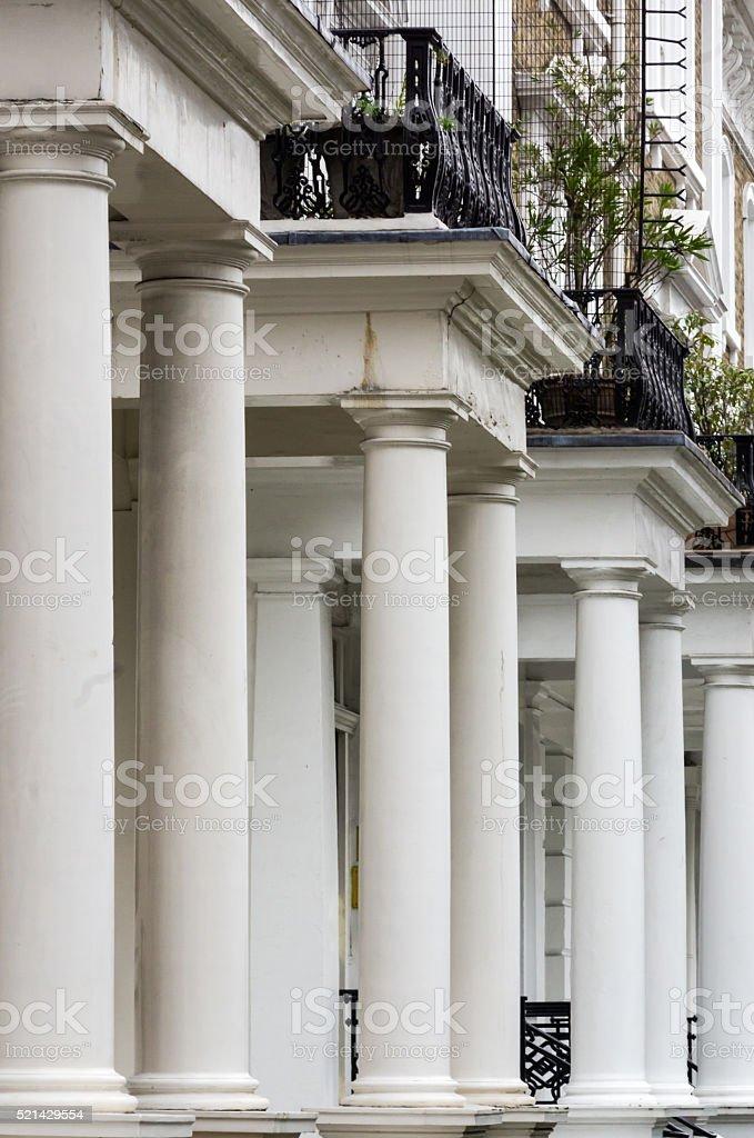 lots of columns stock photo