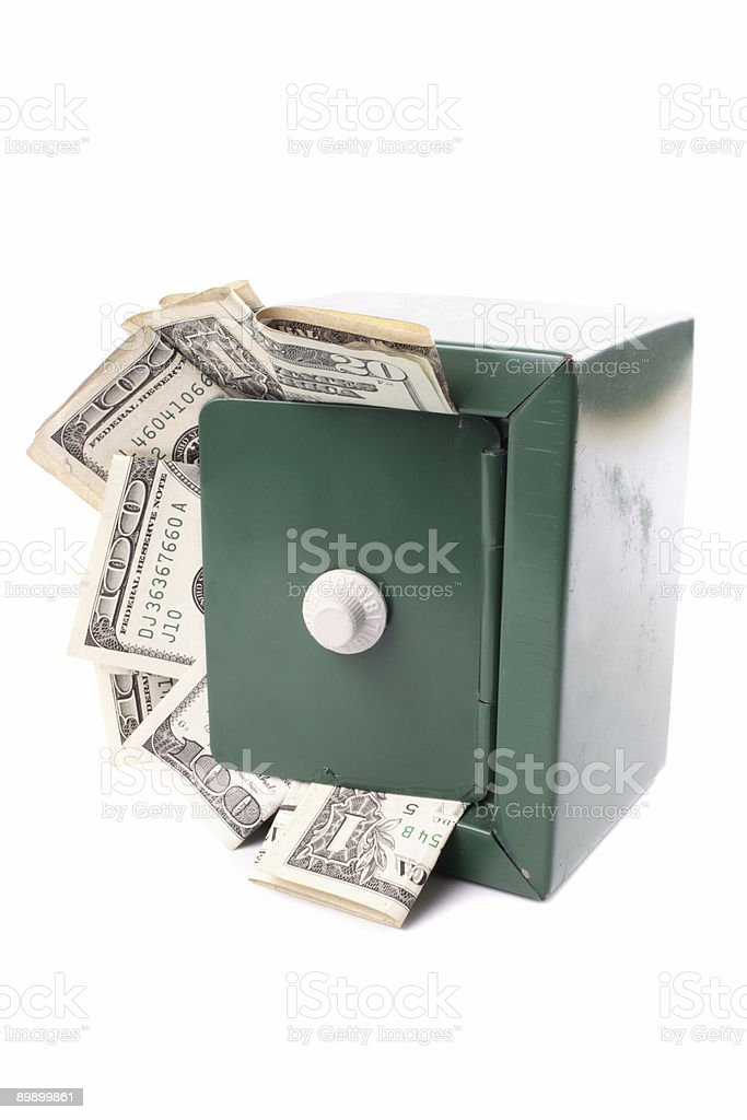 Lots of dollars royalty-free stock photo