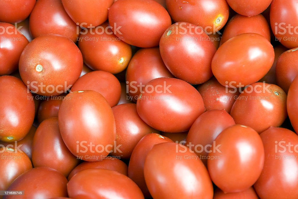 lots of fresh red tomatoes stock photo