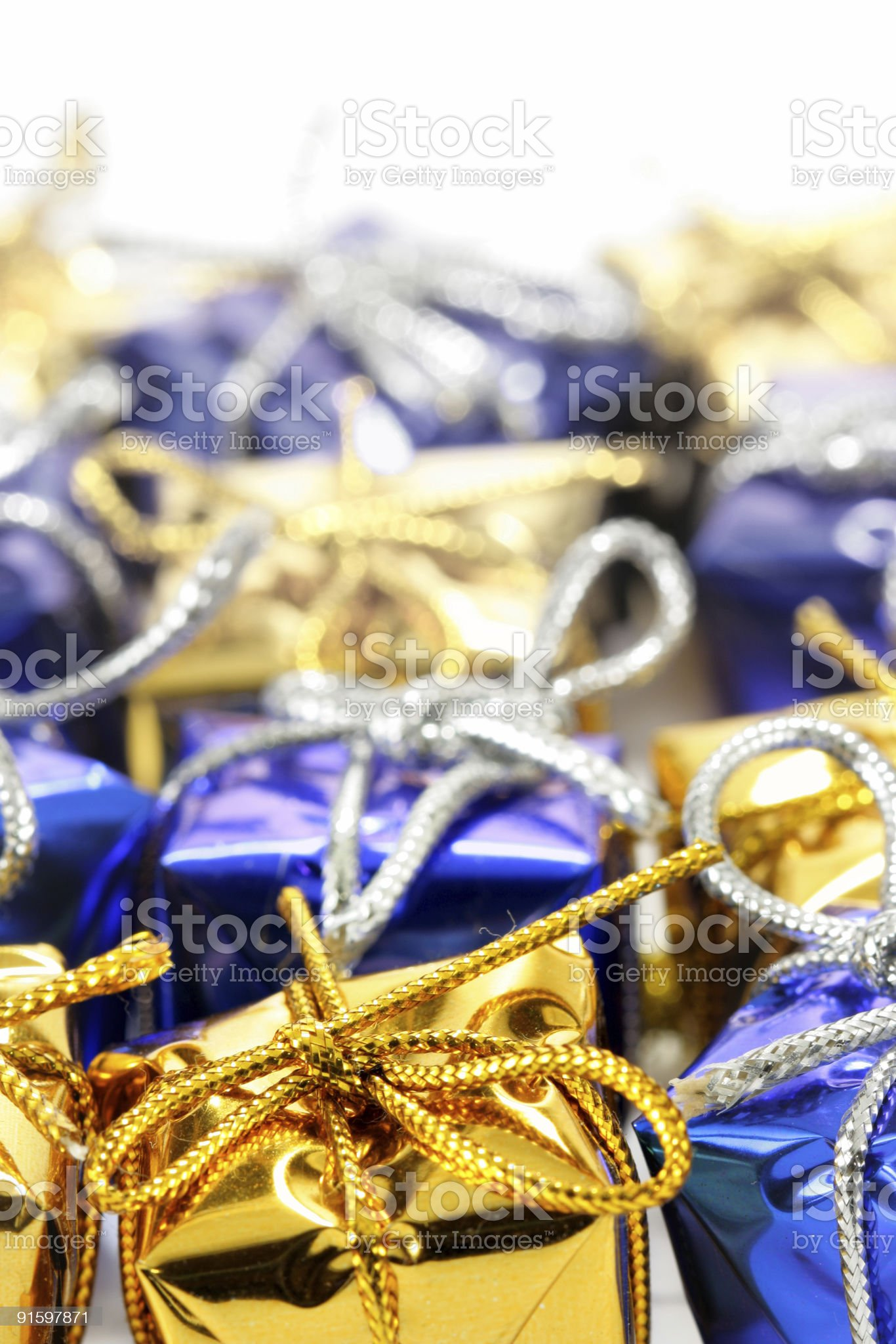 Lots of gift boxes royalty-free stock photo