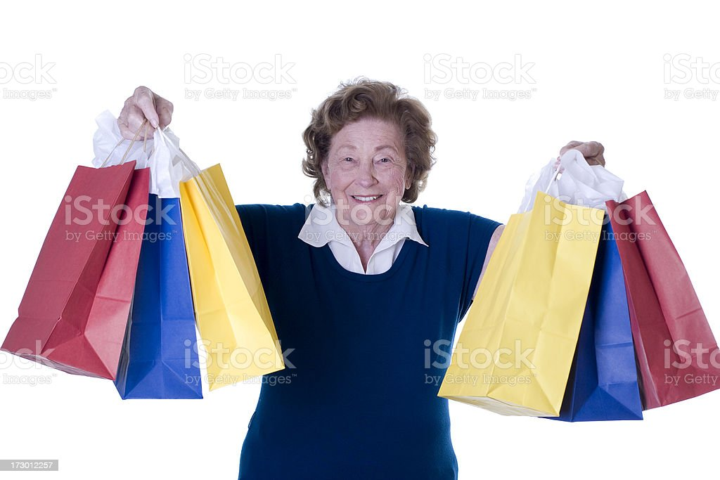 Lots of gifts royalty-free stock photo