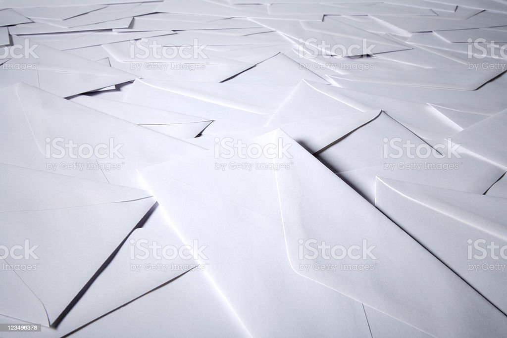 lots of letters stock photo