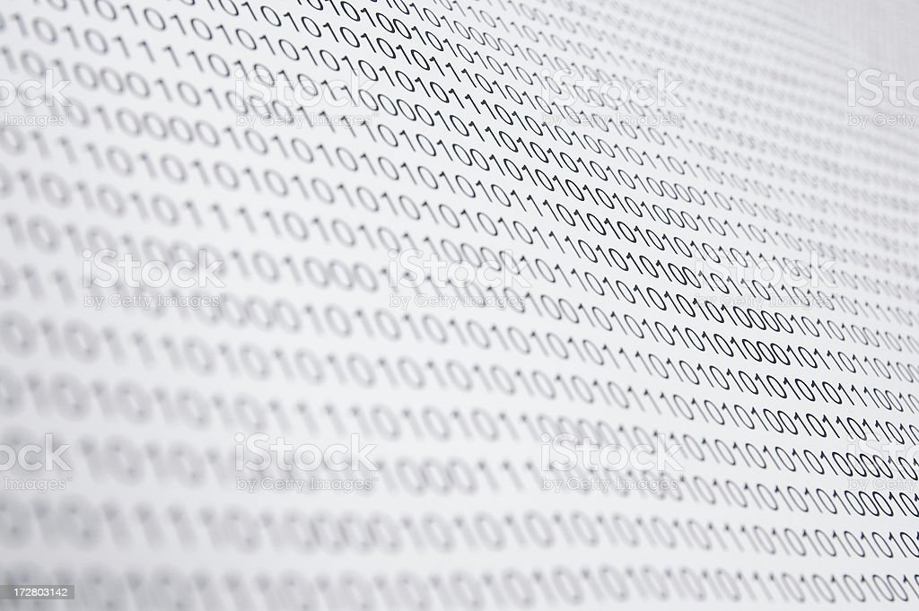 Lots of Numbers stock photo