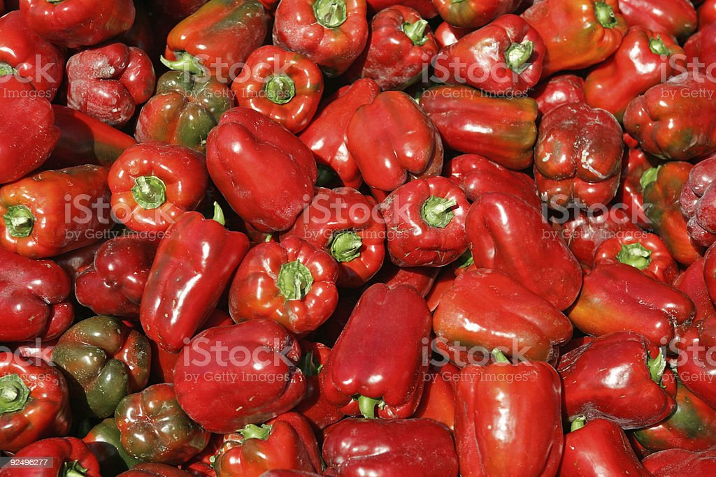 Lots of Peppers stock photo