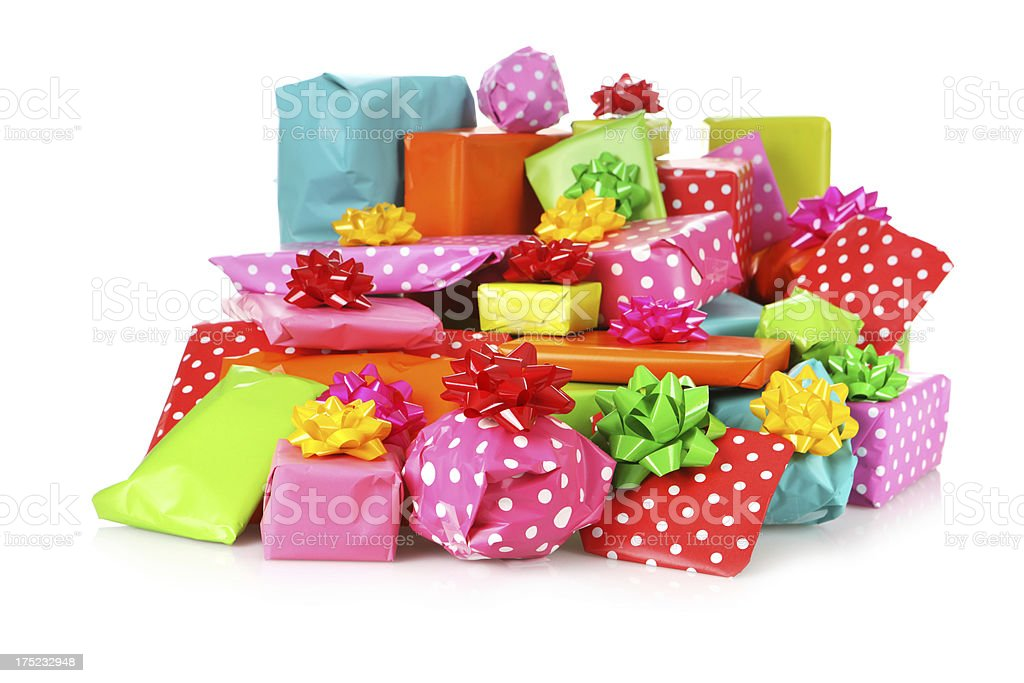 Lots of Presents royalty-free stock photo