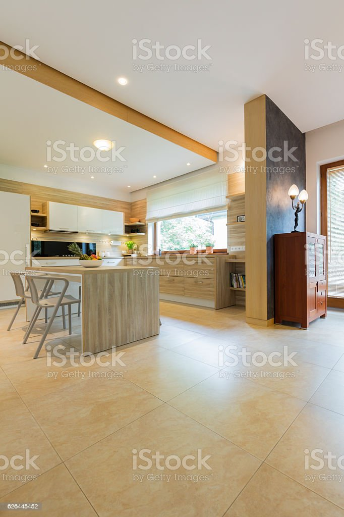 Lots of room for cocktail parties stock photo
