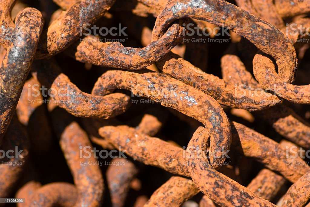 lots of rust stock photo